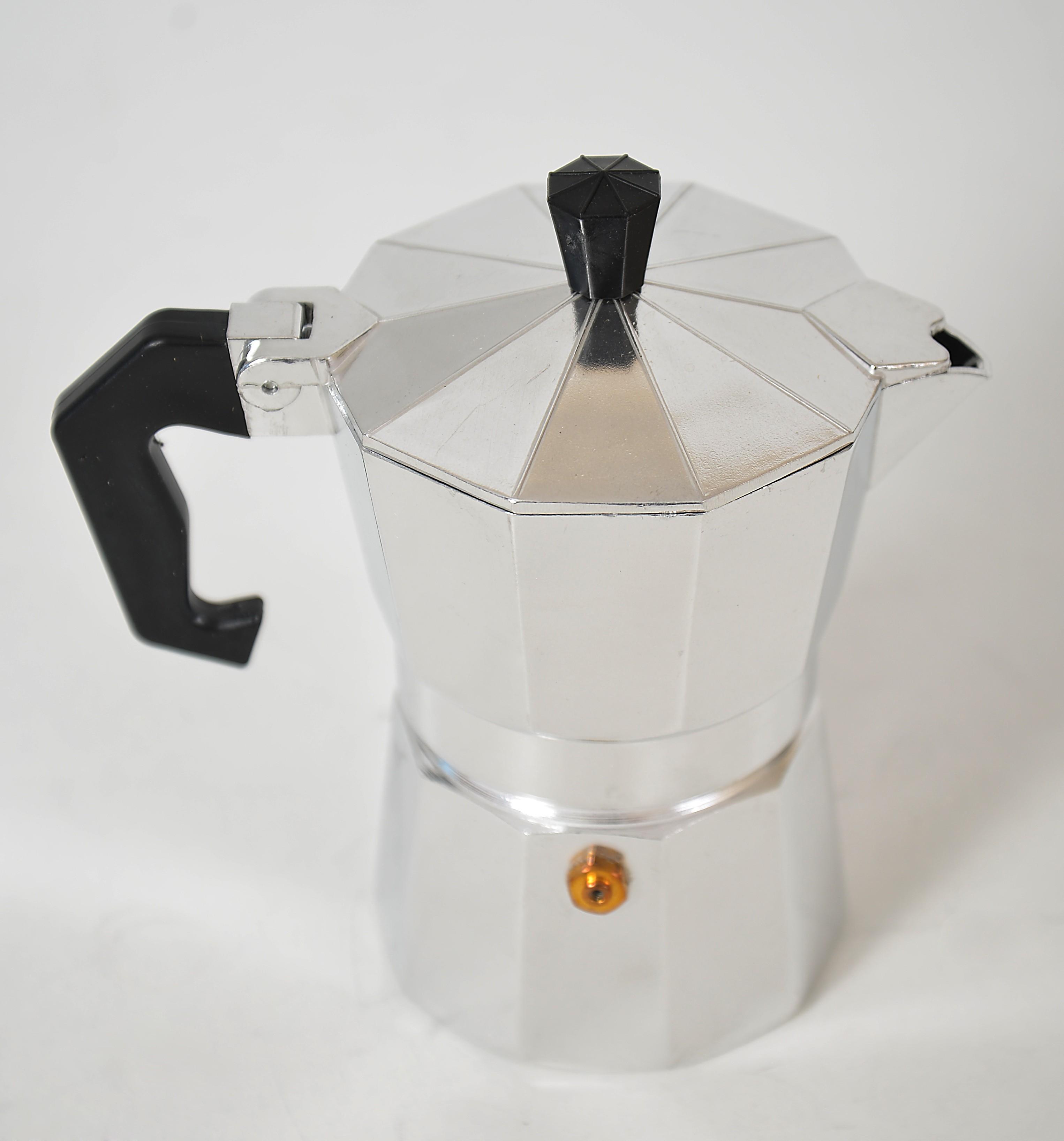 Espressor pentru cafea din aluminiu - 3 cesti
