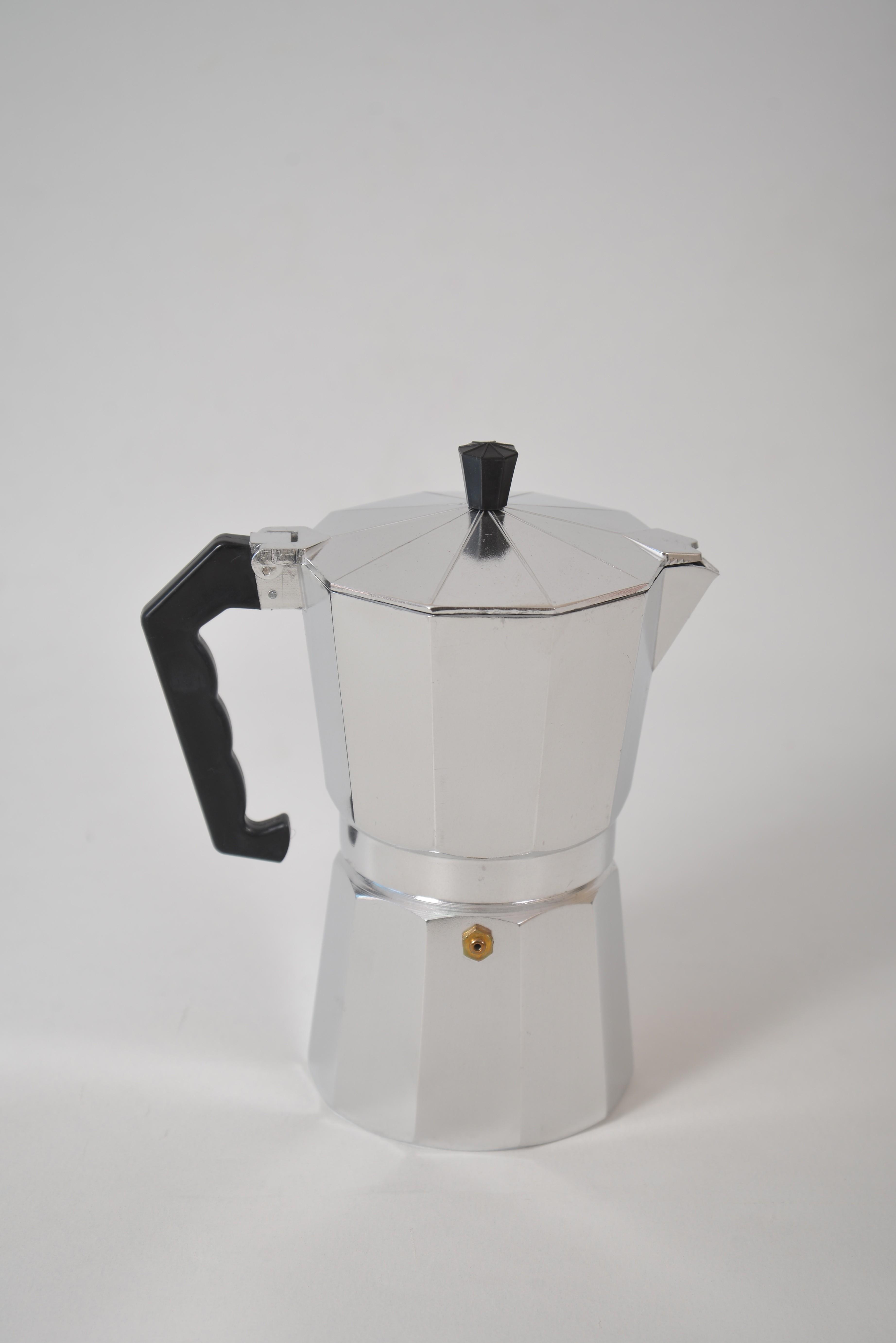 Espressor pentru cafea din aluminiu - 9 cesti