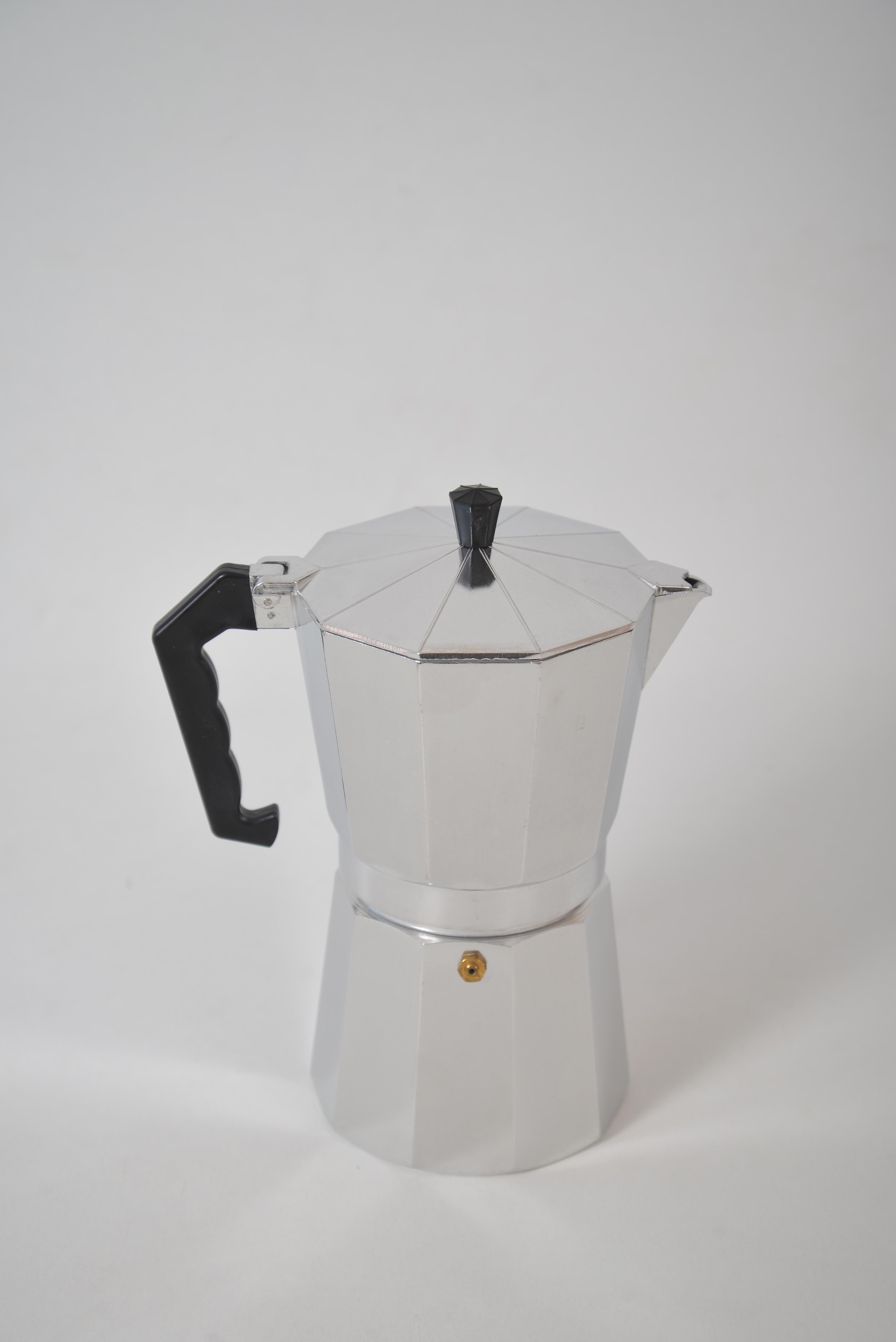 Espressor pentru cafea din aluminiu - 12 cesti